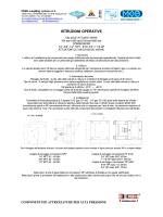 ISTRUZIONI OPERATIVE - Multi Coupling System