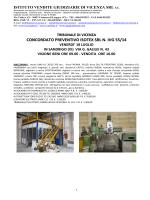 concordato preventivo isotex srl n. ivg 55/14
