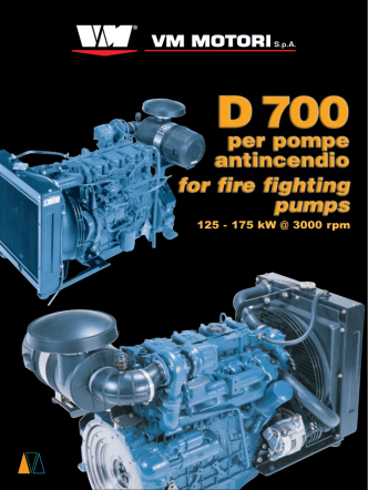 125 - 175 kW @ 3000 rpm