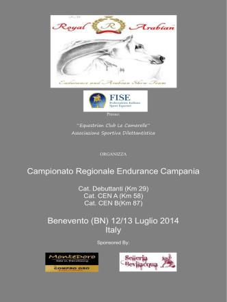 Campionato Regionale Endurance Campania Benevento (BN) 12