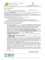 """Istituto di Istruzione Superiore """"A. Cesaris"""" Prot. n° 427/fp/MTC/lb del"""