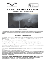 LA SHOAH DEI BAMBINI