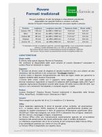 SP 108 - Scheda informativa LG Classica Rovere Formati tradizionali