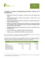 Candidature provibiro - Deposito documenti