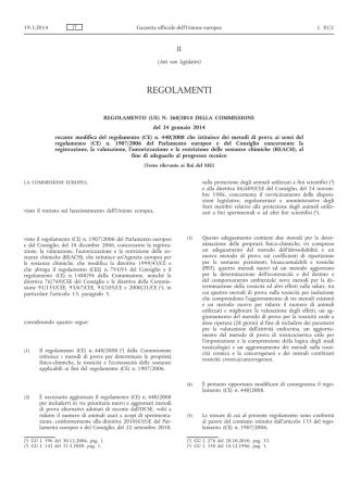 Annotazioni su recenti sentenze concernenti: formulari
