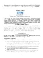 Avviso S.C. Cardiologia Careggi - Azienda Usl 11