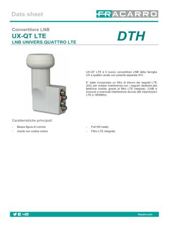 Datasheet_UX-QT LTE_PdfIta