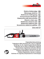 Elektro-Kettensäge Motosega elettrica Elektrische kettingzaag