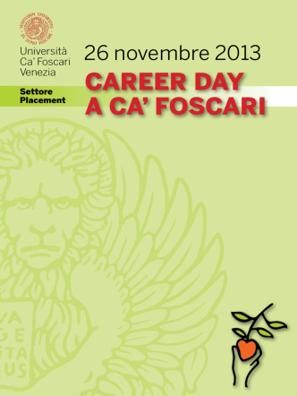 Catalogo Career Day 2013