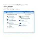 Di seguito un esempio di configurazione di EDUROAM su sistema