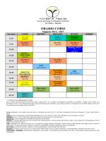 Clicca per visualizzare gli orari dei corsi