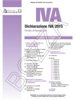 Dichiarazione IVA 2015