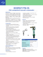 ecofilt f76 cs