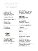 Canti Messa - Sacro Cuore Villabate