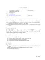Page 1 of 4 DONATO IACOBUCCI www: www.dii.univpm.it/donato