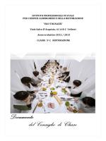 Documento di classe 5C Ristorazione a.s. 2013