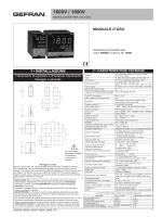 Gefran 1600V-1800V - Manuale