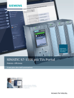 SIMATIC S7-1500 più TIA Portal