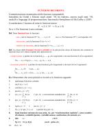 Funzioni ricorsive - Dipartimento di Matematica