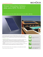 Schuco MPE PG 60 KA - Generazione Solare