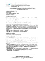 Curriculum vitae et studiorum – Valeria MONTALTO (Ph.D., 2013