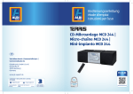 CD-Mikroanlage MCD 244 | Micro-chaîne MCD 244 - GT