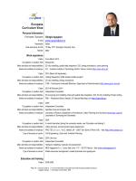 CV as pdf - AIT Austrian Institute of Technology