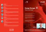 Energy Storage, Power to the People