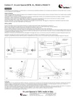 Carbon-Ti X-Lock Special MTB, XL, ROAD e ROAD TI X-Lock