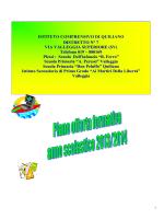 Piano Offerta Formativa - Istituto Comprensivo Quiliano