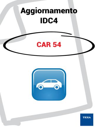 Aggiornamento IDC4 CAR 54