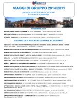 2014 AUTUNNO E INVERNO E ANTEPRIMA 2015