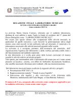 """Istituto Comprensivo Statale """"A. R. Chiarelli """" RELAZIONE FINALE"""