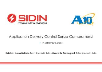 Application Delivery Control Senza Compromessi
