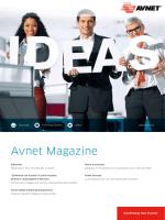 Avnet Magazine Settembre 2014