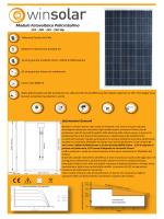 Modulo Fotovoltaico Policristallino