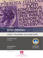 Scarica la Brochure - Università Cattolica del Sacro Cuore