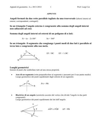 APPUNTI_quaderno geometria_2014