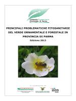Principali problematiche fitosanitarie ed. 2013