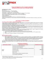 Foglio informativo Rendimax Carta di Debito