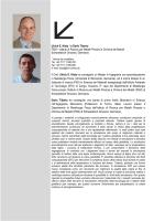 Ulrich E. Klotz * e Dario Tiberto FEM – Istituto di