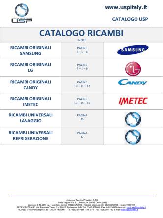 catalogo usp - Universal Service Provider