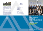 Scarica la brochure 2014-15 - Master Auditing e Controllo Interno