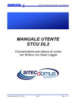STCU 2DL - Manuale Utente