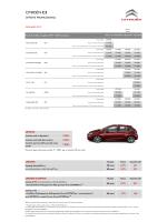 Listino - Citroën