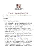 Febbraio 2014 - Associazione Italiana Studi Bizantini