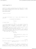 LEGGE 16 maggio 2014, n. 78 (GU n.114 del 19-5