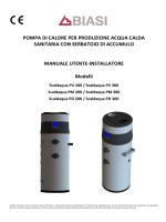 LIBRETTO SCALDACQUA P (POMPA DI CALORE)