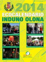 Calendario raccolta rifiuti anno 2014