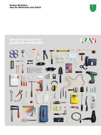 Cosa deve sapere in qualità di cliente RAV.